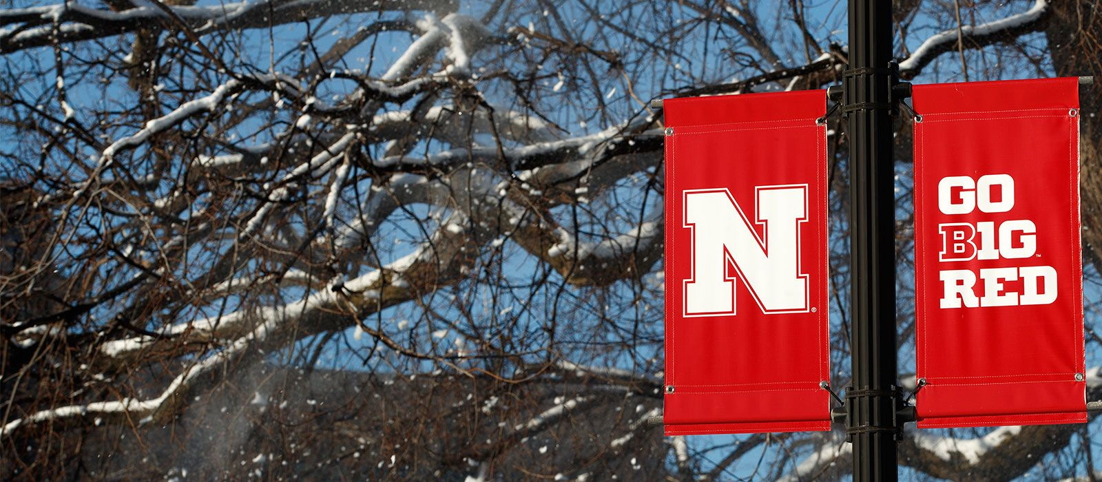 UNL Campus in winter